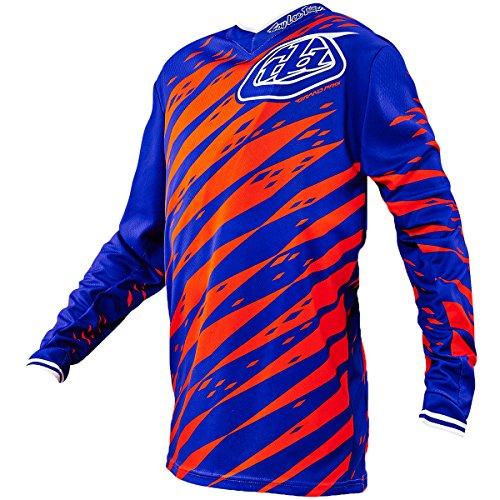 Troy Lee Designs GP Vert Boys Motocross/Dirt Bike Motorcycle Jersey - Purple/Large