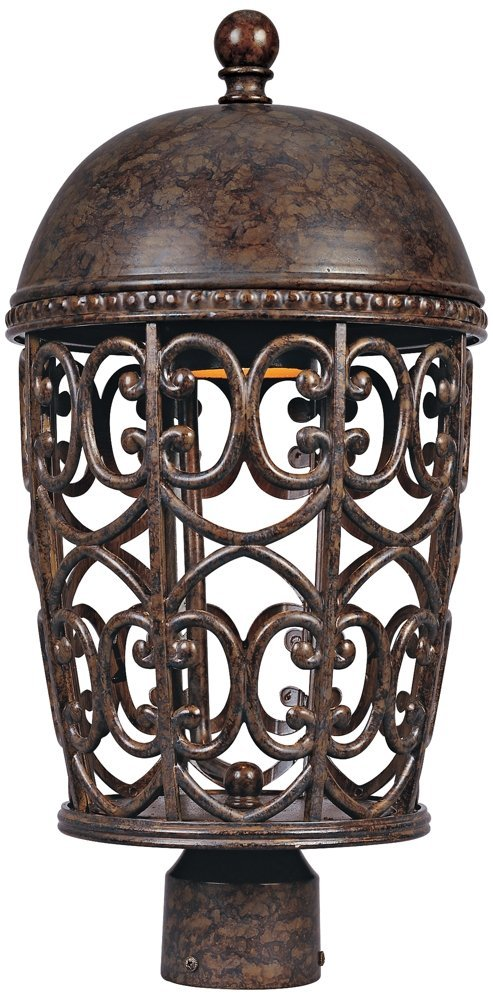 Amherst 20 1/4'' High Burnt Umber Outdoor Post Light by Designers Fountain