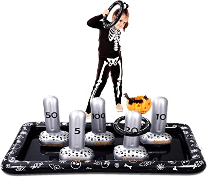 Halloween Ring 2020 Amazon.: CLISPEED Halloween Ring Toss Game Set 2020 Newest