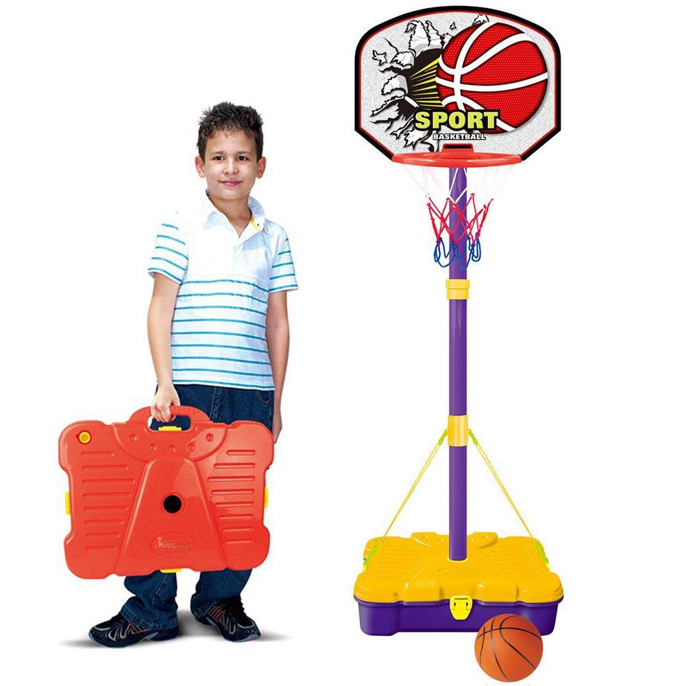 BAKAJI 8050534663020 - Baúl portátil para niños con balón y Base ...