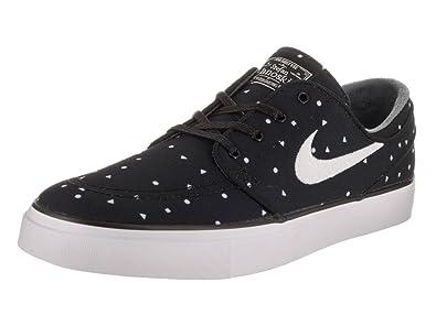4f3a7f750b2fb Nike Men s Zoom Stefan Janoski Black Canvas Premium Skate Shoe 11