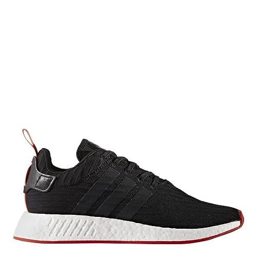 adidas Originals NMD_R2 PK, ftwr white-ftwr white-core red: ADIDAS: Amazon.es: Zapatos y complementos