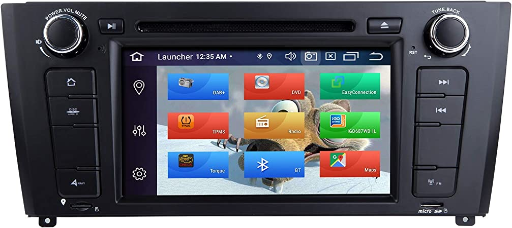 Zltoopai Autoradio Stereo Für Bmw E81 E82 E87 E88 1er Serie Android 10 Octa Core 4g Ram 64g Rom 7 Zoll Ips Bildschirm Doppel Din Im Armaturenbrett Gps Navigation Dvd Player Amazon De