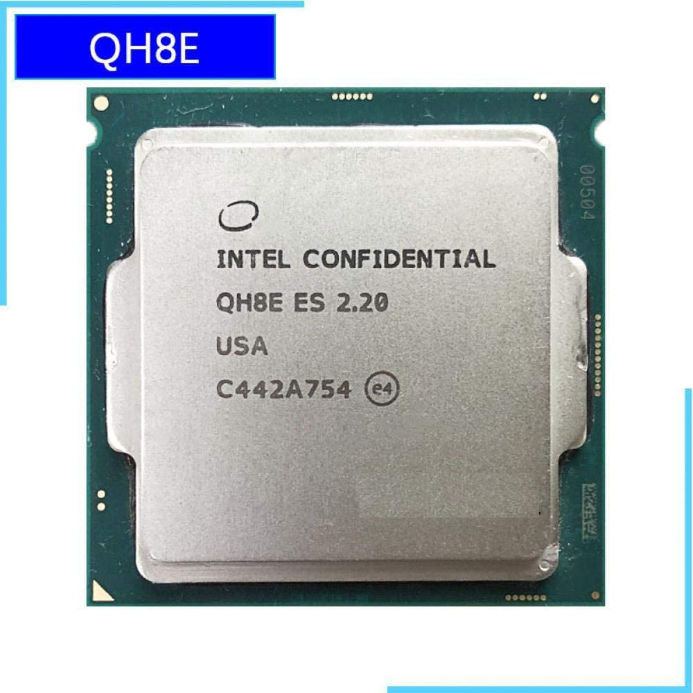 Intel Core I7 ES QH8E 2.2 GHz Quad-Core Eight-Thread CPU Processor L2=1M L3=8M 6700K 6400T LGA 1151