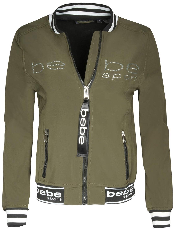 c1b2c976c BEBE SPORT Ladies Soft Shell Fleece Lined Bomber Jacket with ...