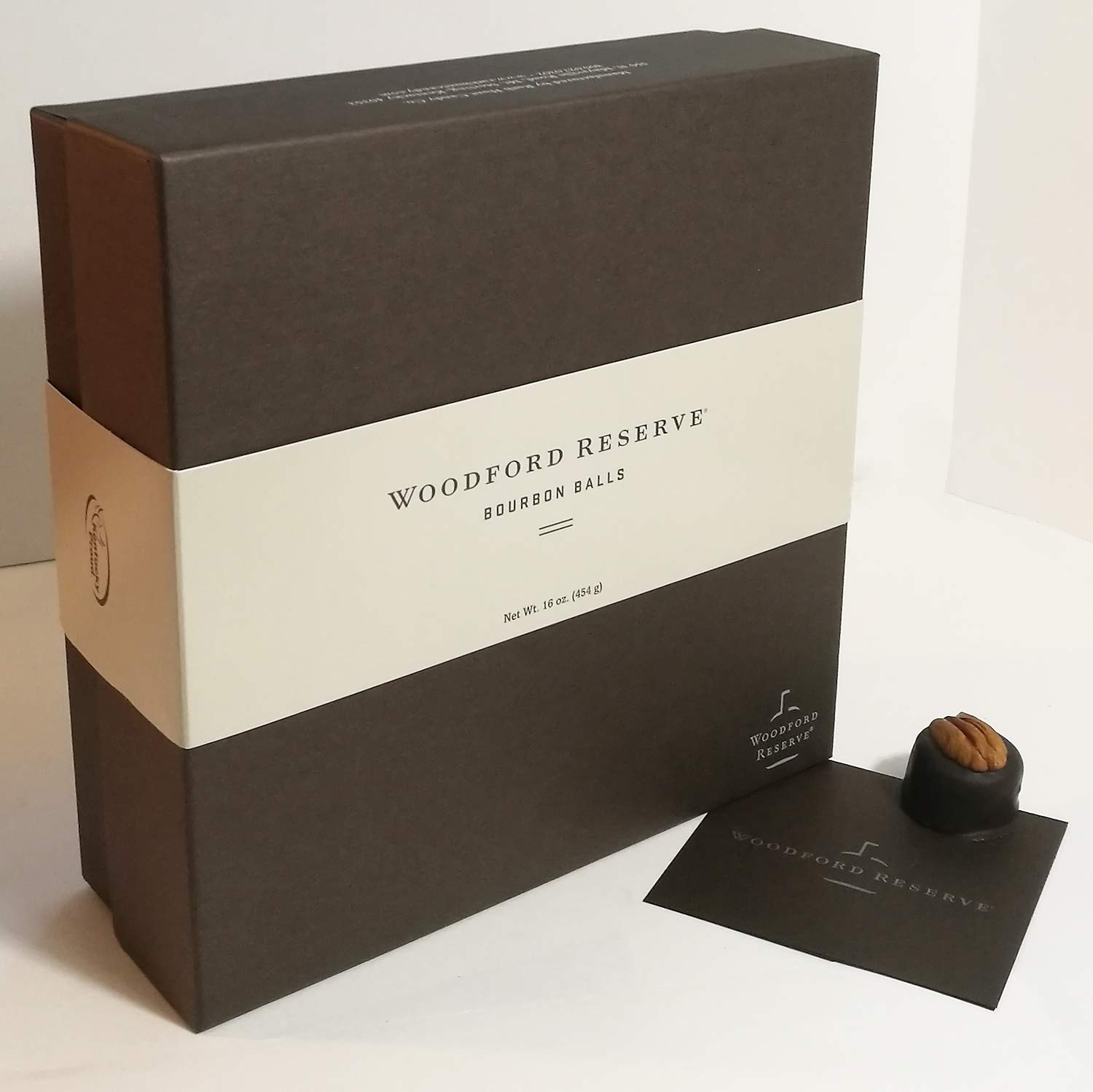 Woodford Reserve Bourbon Ball Gift Box, 32 Candies per box, delicious and perfect for holiday gifts by Woodford Reserve