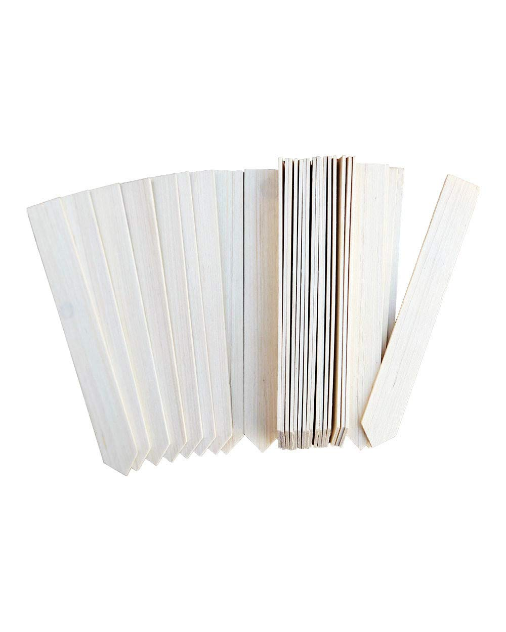 Galleon - 30 Large Wood Plant Labels Gardening Stakes Garden