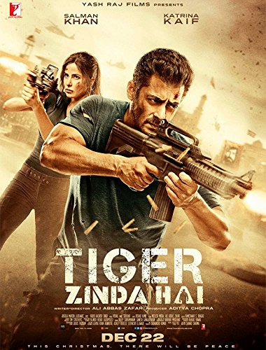 Image result for tiger zinda hai poster