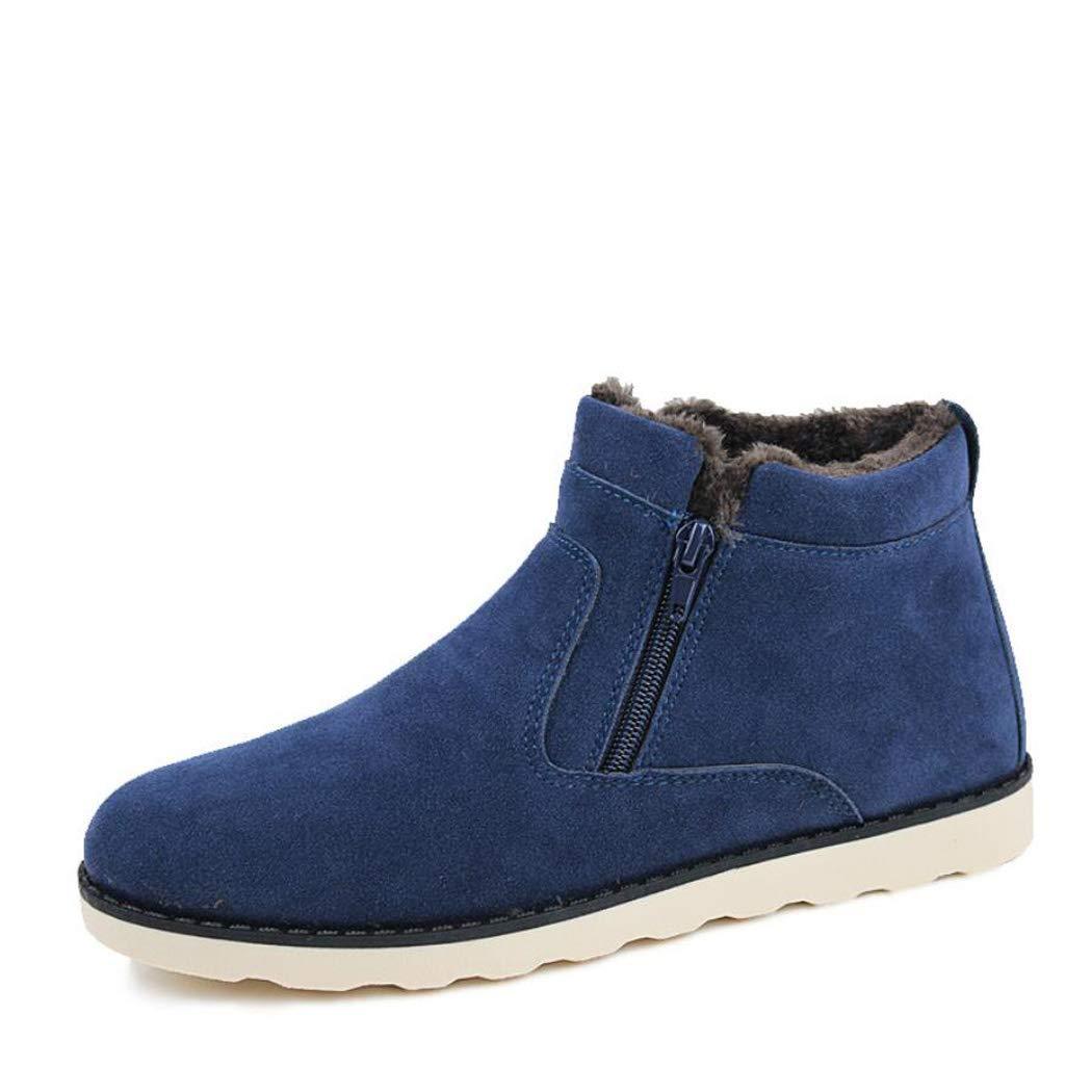 Zxcvb Outdoor High Help Plus Samt Baumwolle Schuhe Schneeschuhe Herren Warme Casual Herrenschuhe Gelb Blau Schwarz