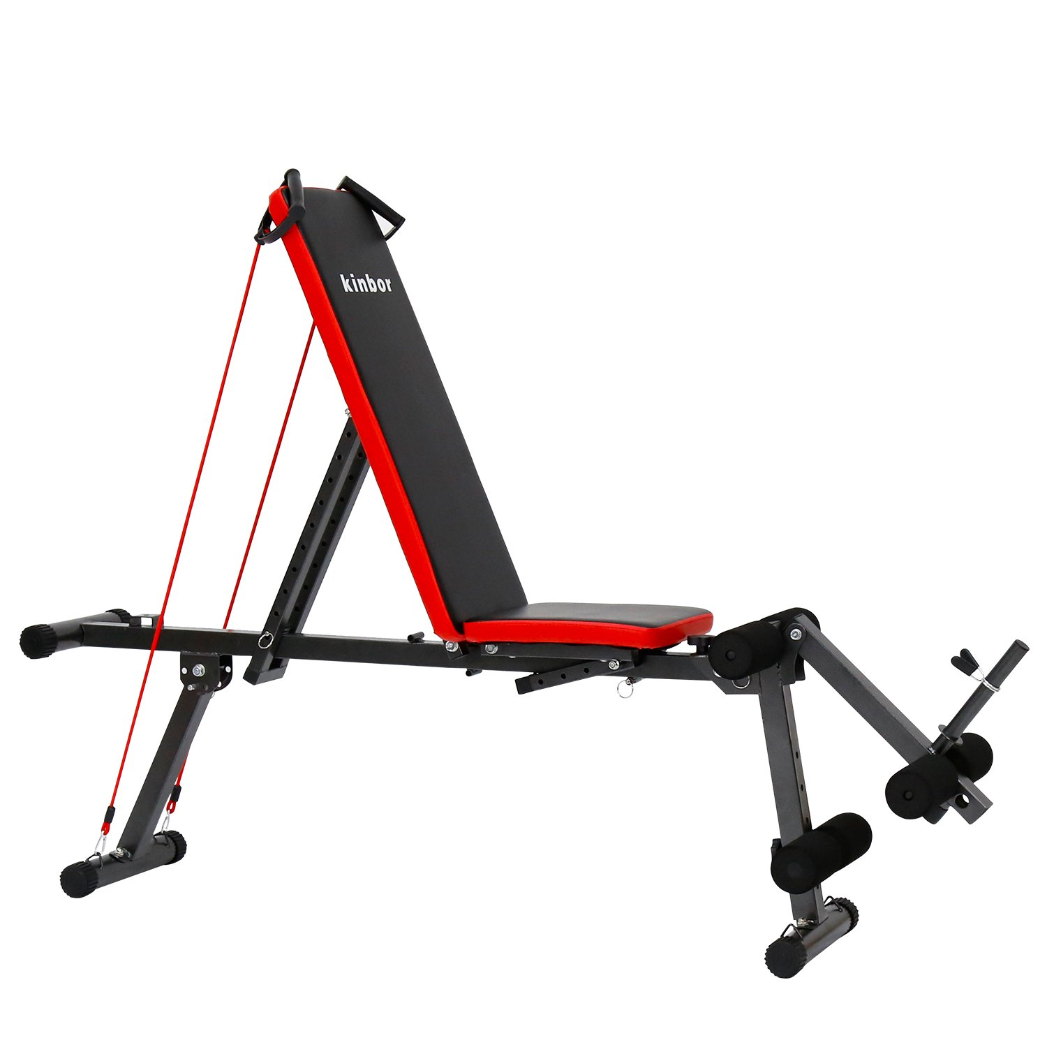 Peach Tree Multi-Purpose Adjustable Utility Sit-up Bench Board for Full Body Workout by Peachtree Press Inc