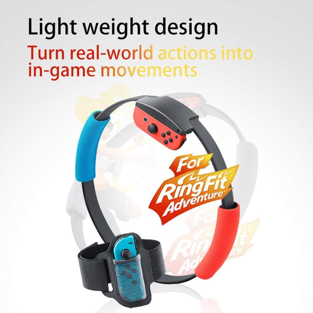 MIFASA - Correa para la pierna para Nintendo Switch Ring Fit Adventure Game ajustable elástico deportivo movimiento banda de pierna: Amazon.es: Hogar
