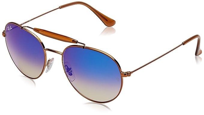 Ray-Ban 0Rb3540 198/8B Gafas de sol, Shiny Bronze, 56 Unisex ...