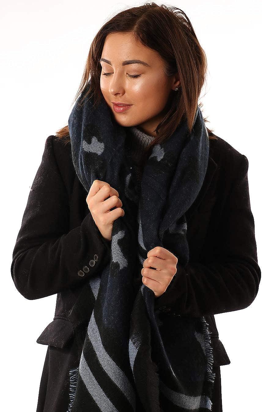 Soft Star Blanket Scarve Scarfs Women Star Warm Winter Scarfs Long Oversized Warm this Winter Pashmina Shawls Birthday gifts For Her