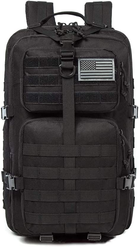 Kylebooker Tactical Backpack 40L Military 3P Molle Assault Pack Rucksack Survival Army Bag
