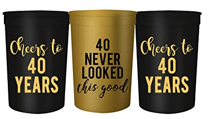 Amazon.com: Cheers to 40 Years and 1