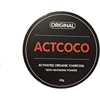 Actcoco activated charcoal tooth polish
