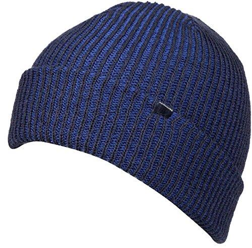 Quiksilver Boys Preference Beanie Hat One Size Navy Blazer