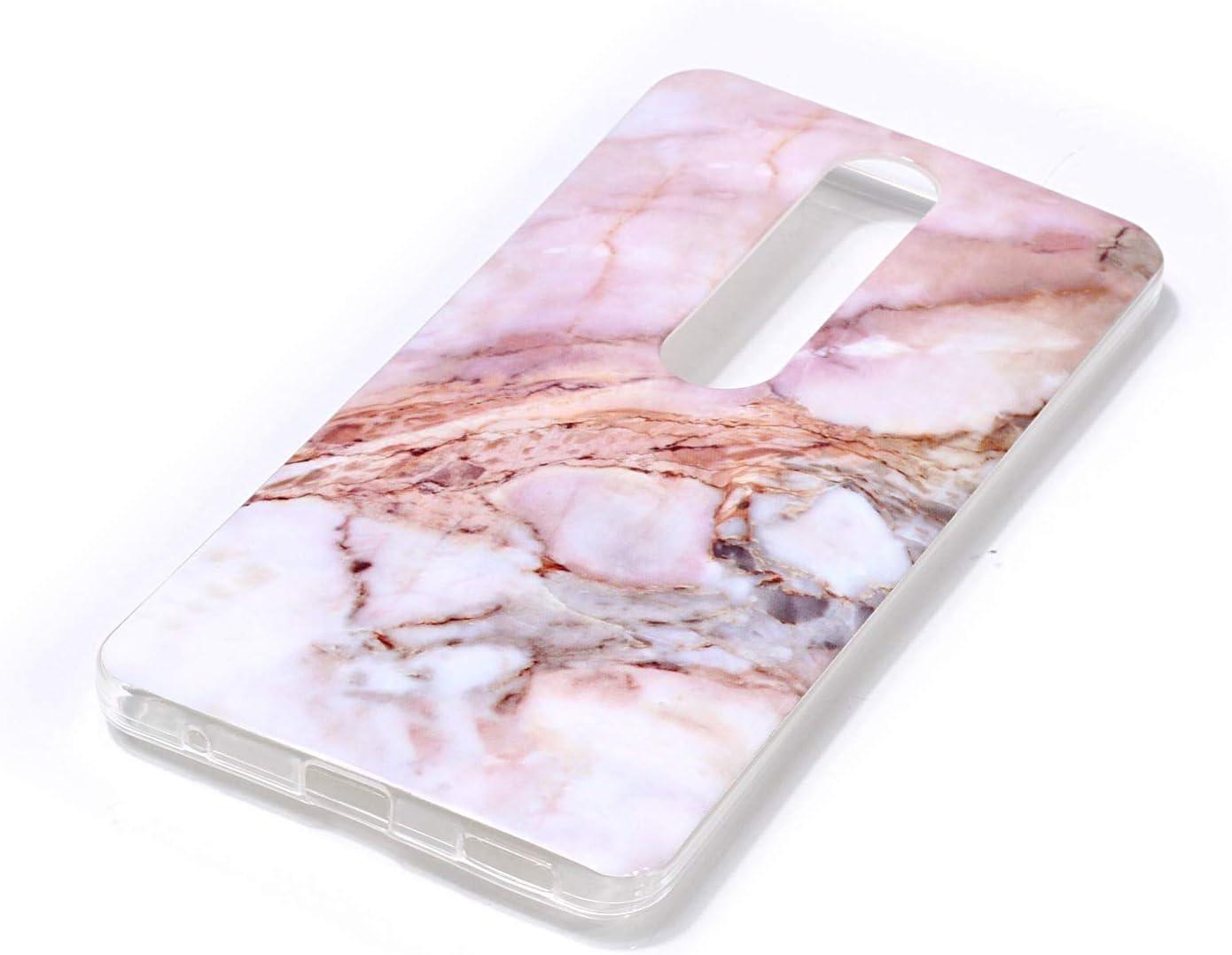LOYHU231035#3 Soft Silicone Case Shockproof Anti-Scratch Case Cover for Nokia6.1 Lomogo Nokia 6.1 2018 Case