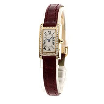 official photos 039b3 0afe0 Amazon   [カルティエ]ミニ タンク アメリカン 腕時計 K18ピンク ...