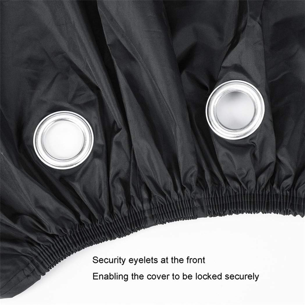 20 Inch Bicycle Covers Thickening Rain Sun UV Dust Wind Proof with Lock Hole for Mountain Road Electric Bike Picowe Bike Cover Waterproof Outdoor