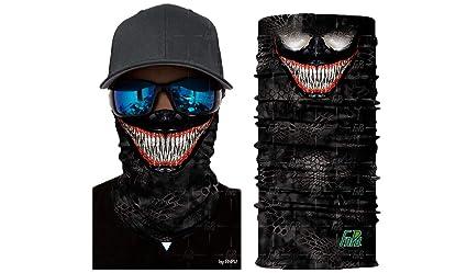 Amazon.com: 3DVenoms - Máscara para bufanda, cuello de la ...