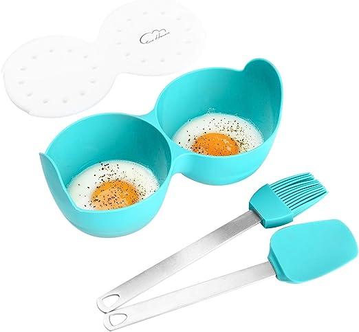 idea como regalo para la cocina Cocedor de huevos para horno microondas