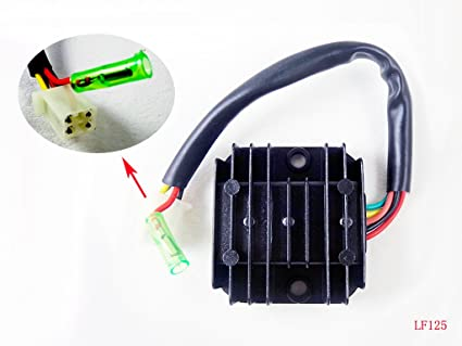 amazon com voltage regulator rectifier for lifan lf125 lf150 lf 125 rh amazon com