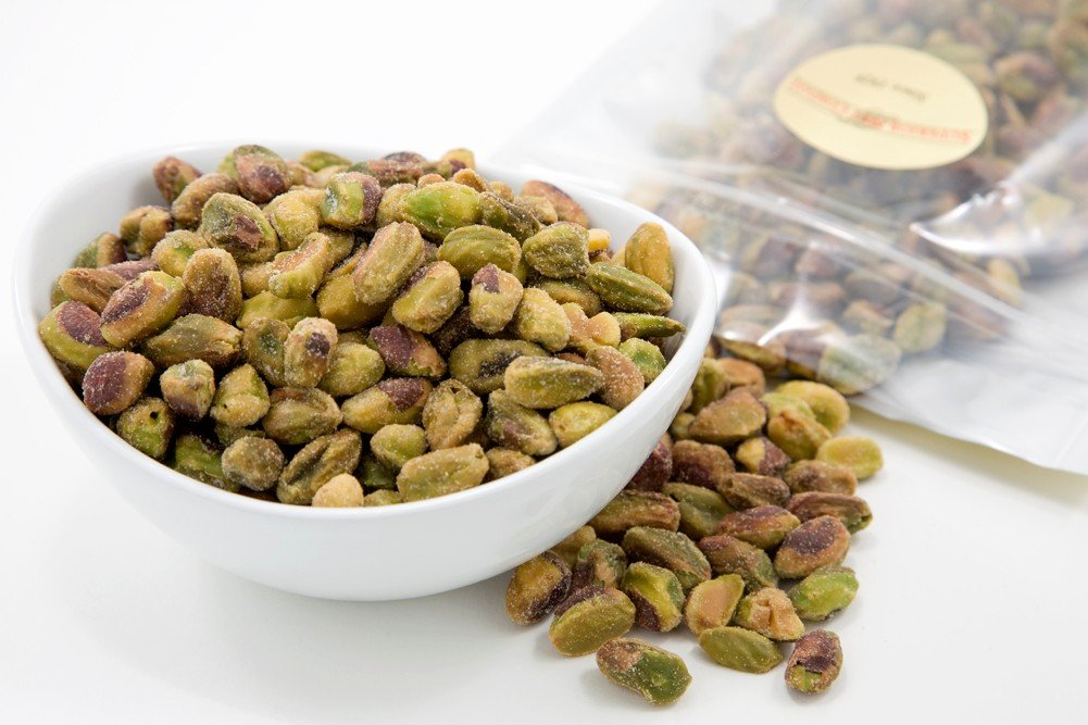 Roasted Pistachio Meats (1 Pound Bag) (Unsalted)