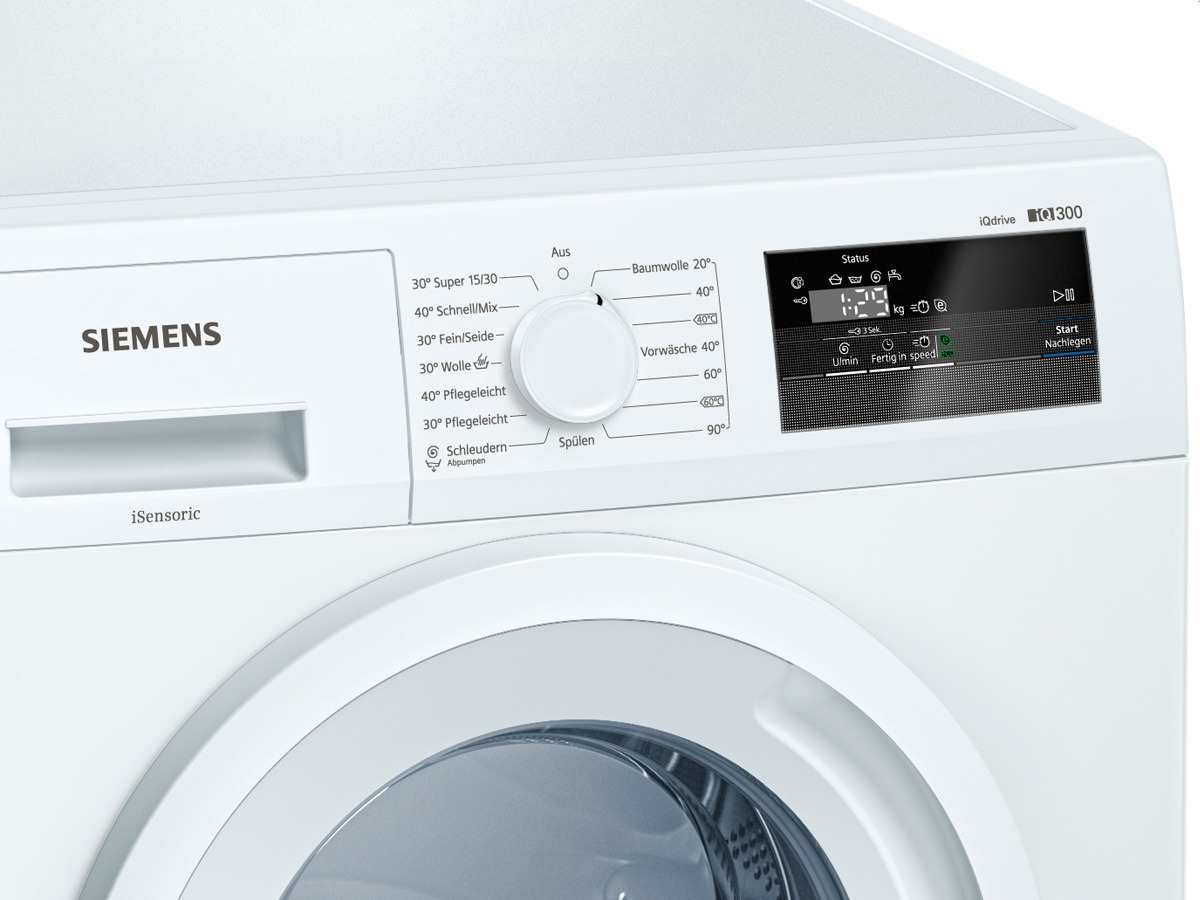 Siemens WM14N0A0 Independiente Carga frontal 6kg 1400RPM A+++ ...