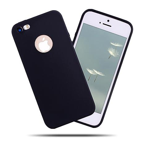4473f581b9e Kcdream Funda iPhone 5/5S/SE, Silicona Carcasa Protector TPU Flexible Cover  Color