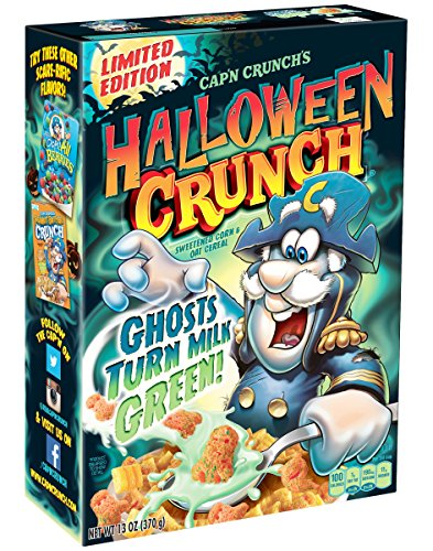 Cap'n Crunch Halloween Crunch Cereal - Your Milk