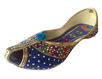 62df34197c3fd Amazon.com | Step n Style Indian Punjabi Juttis Bridal Shoes Khussa ...