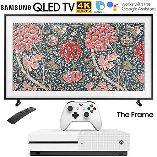 "Samsung QN65LS03RA The Frame 3.0 65"" LS03R QLED Smart 4K UHD TV (2019 Model) with Microsoft Xbox One S 1TB Console"