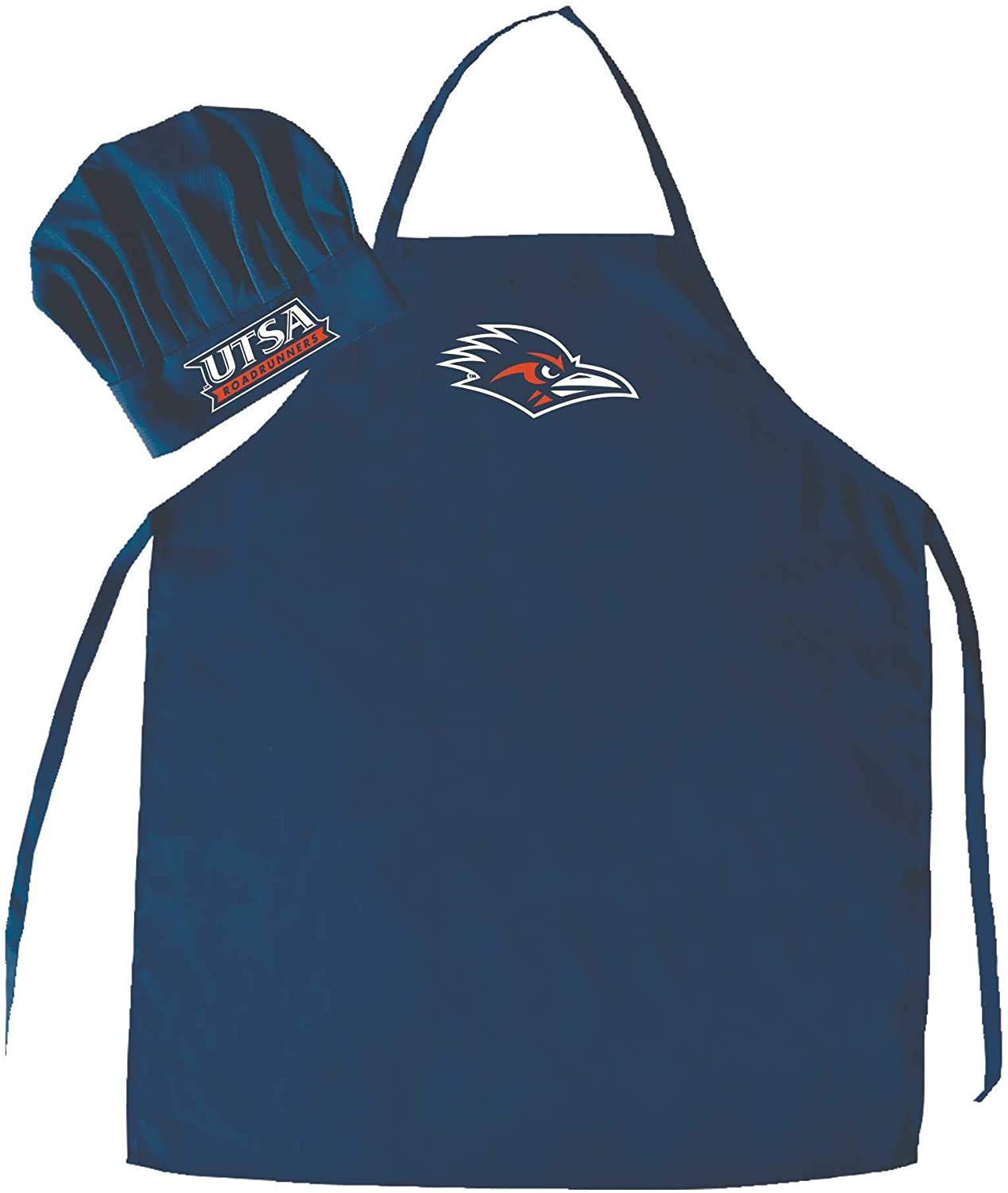 NCAA College Men's Chef Hat and Apron