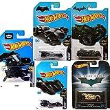 Batman 2017 Hot Wheels Batmobile #237 & 190 Brave & Bold Retro Dark Knight Tumbler Camo Version Arkham Knight Green #88 + The Bat #205 Blue