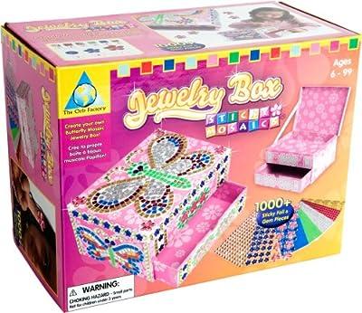 Orb Factory Sticky Mosaics: Jewelry Box