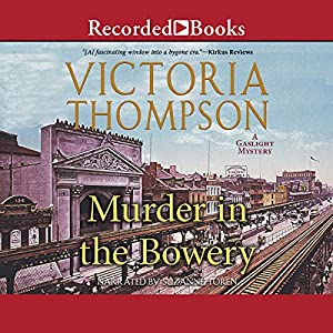 Murder in the Bowery Audiobook
