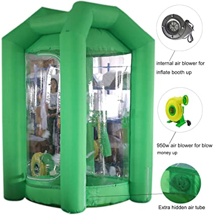 SAYOK - Hucha hinchable con soplador de aire para promociones de ...