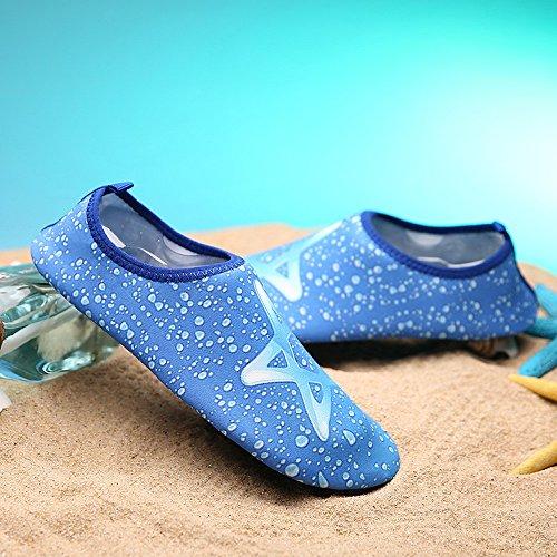 Aire Agua ALIKEEY Calcetines Mujeres Al Buceo Snorkeling Beach Yoga Los Las De 3 Nadar Azul Libre Deportivo Hombres Surf De YR1gYn8