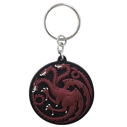 GAME OF THRONES - Keychain PVC Targaryen X4: Amazon.es: Equipaje