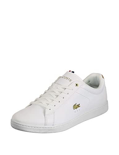 4a2bb9b9057a Lacoste Men s Carnaby Evo 118 3 Trainers Shoes White Size  8 UK ...