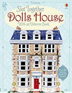 Victorian Doll House With Doll House With Pop Up Furniture Press