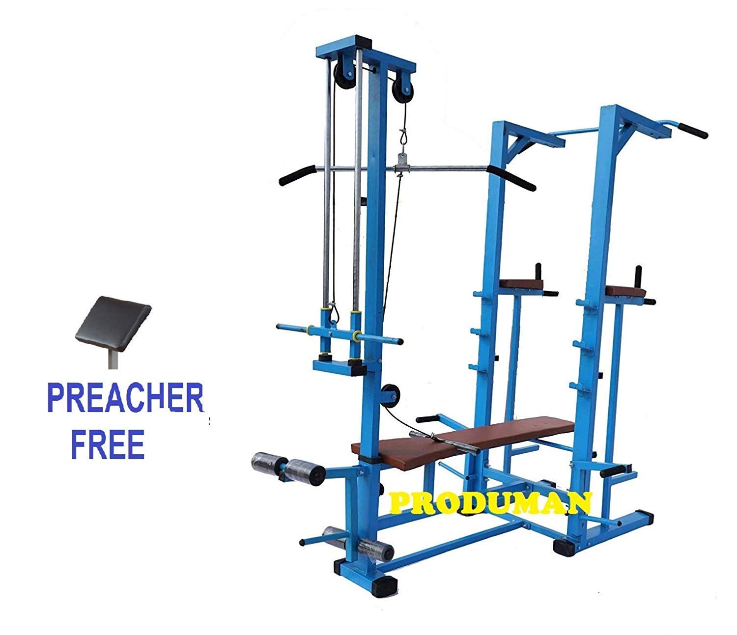 Produman Hub 20 In 1 Bench For Muscle Building Workout And
