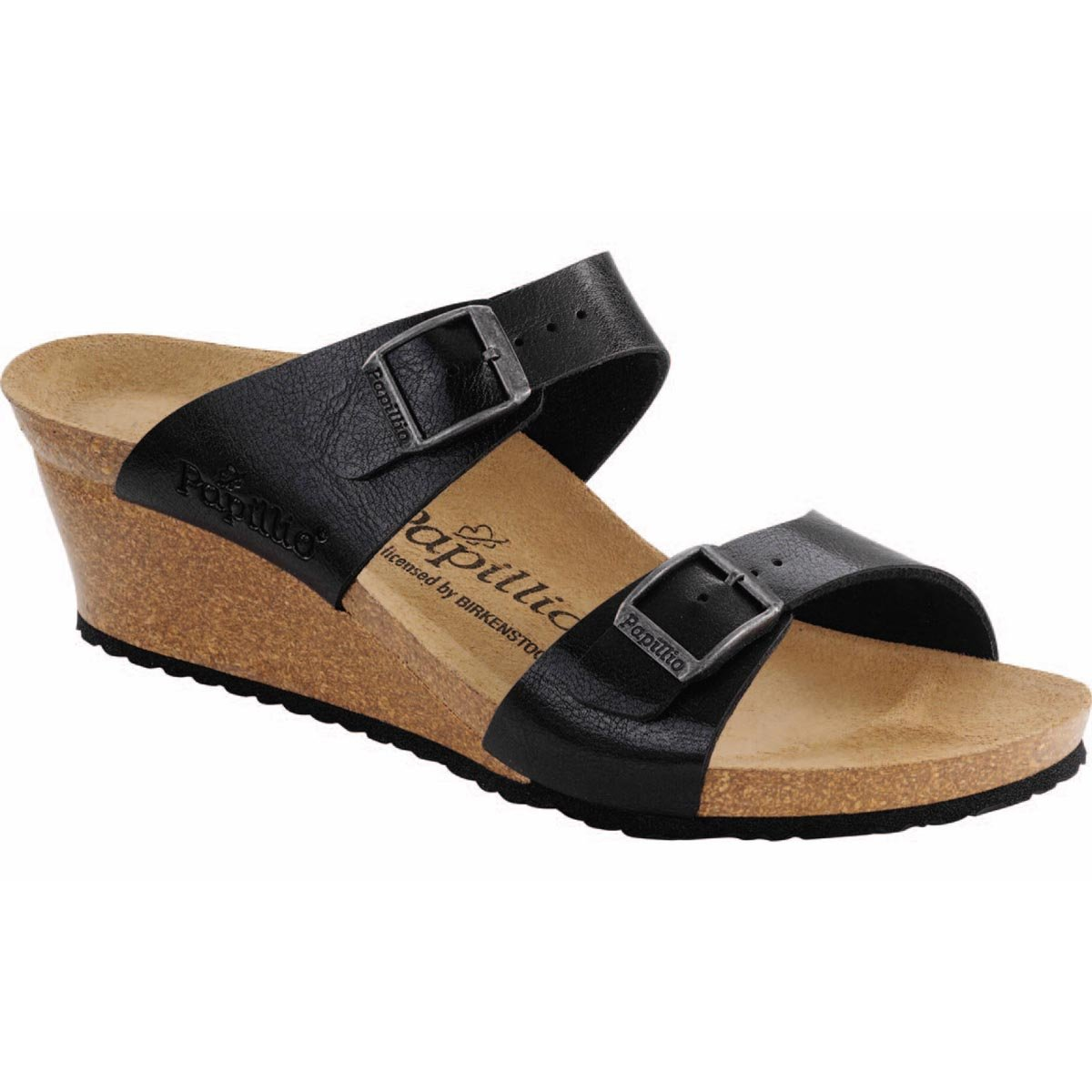 Birkenstock Dorothy Narrow Sandal - Women's Graceful Licorice Birko-Flor, 41.0
