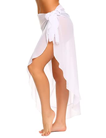 acc64eff29 Ekouaer Women s Beach Cover Up Long Pareo Canga Swimsuit Sarong Skirt  Swimwear Scarf Cover-up