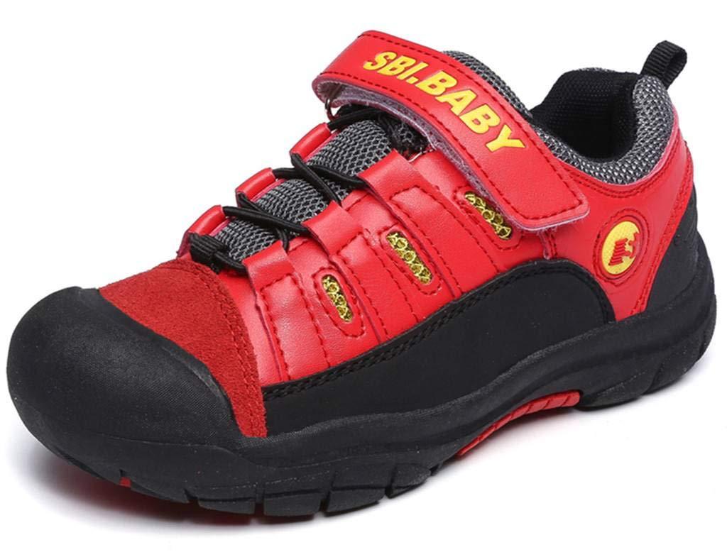 DADAWEN Boy's Girl's Running Shoes Waterproof Outdoor Hiking Athletic Sneakers (Toddler/Little Kid/Big Kid) 71022