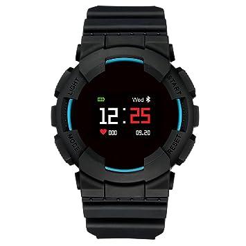 Hangang MX Smart Watch Fitness Tracker Tensiómetro de pulso reloj Smart Relojes Bluetooth agua Densidad Outdoor