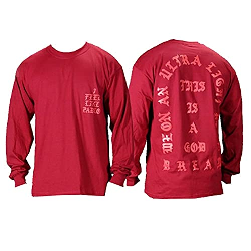 iApparel Mens Kanyewest 808s Pablo Pop-up T Shirts