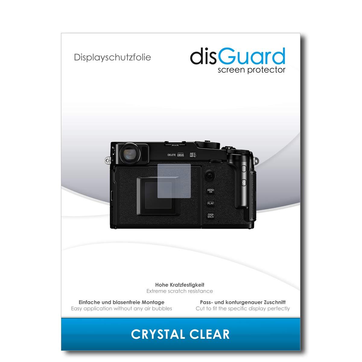 Invisibile Crystal Clear Proteggi Schermo Compatibile con Fujifilm X-Pro3 Effetto Anti-Impronte Transparente Ultra Resistente disGuard Pellicola Protettiva Cristallino 2 Pezzi