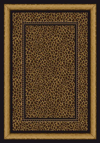 Signature Zambia Print Onyx Rug Rug Size: 5'4